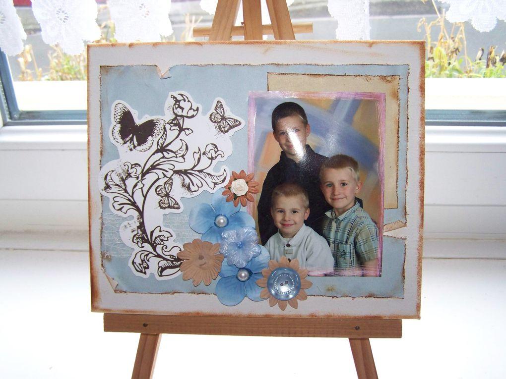Canvas, etc. CLIQUER SUR LES IMAGES POUR AGRANDIR