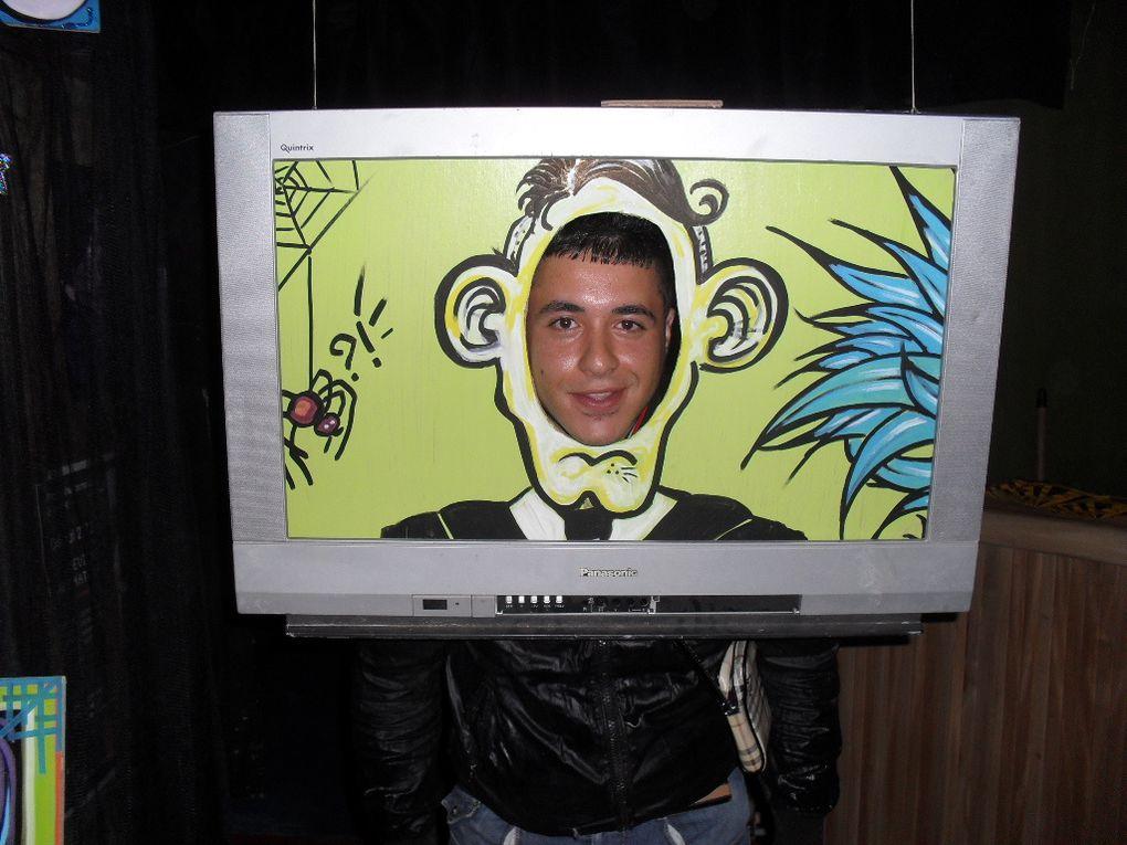 A 20 heures la Baraq' n'a pas peur ! Photos et graphisme du cadre tv! Art Corps