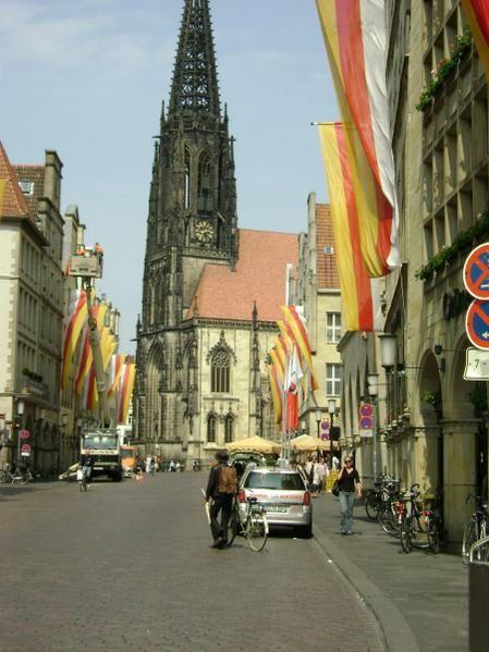 Une promenade en photo dans Münster, mon oasis allemand.