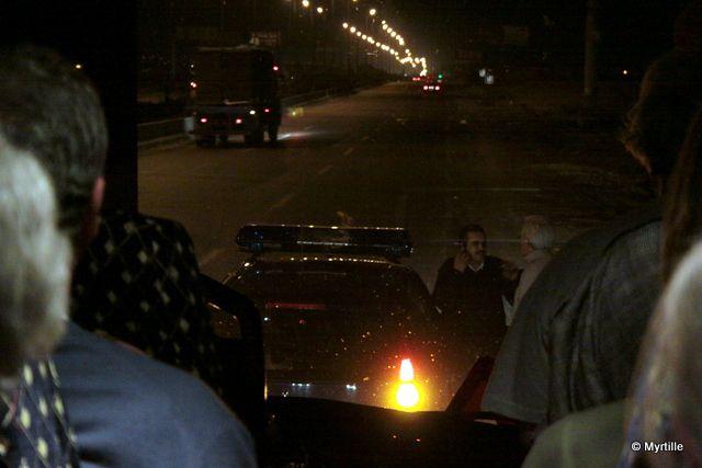 28 déc 2009 - Freedom Gaza Marchdépart prévu 14Hblocage 1h au Caire...80km et arrêt pendant plusieurs heures au check-point Ismailia.Retour au Caire sous escorte policière...