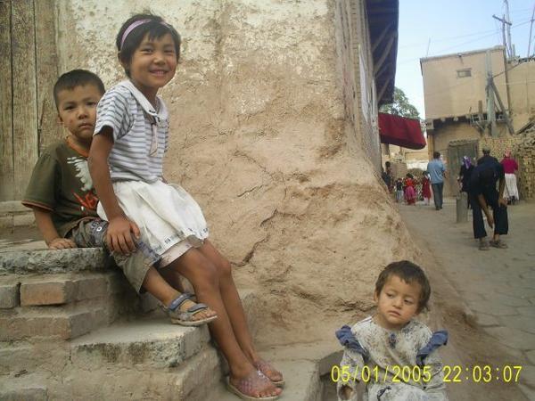 Ayant une culture typiquement centreasiatique, les ouïgours ont des visages très différents, même entre eux.