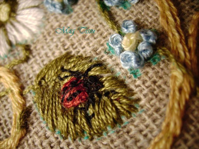 Mes ouvrages de broderie traditionnelle