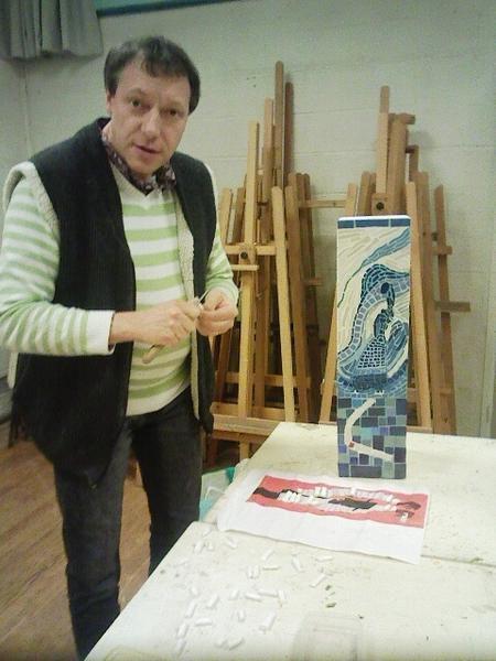Atelier de céramique, vitrail, et mosaïque adultes de Saint-Marcel proche de VERNON