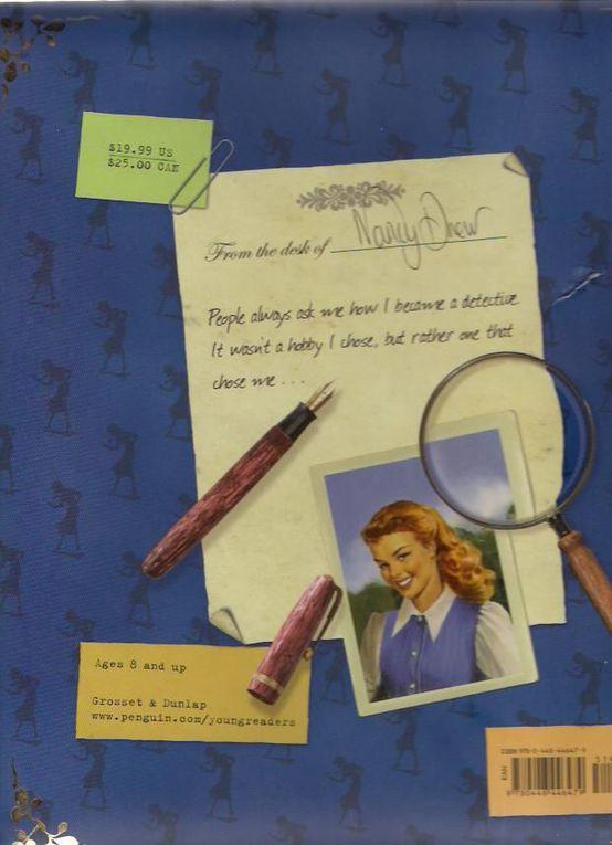 """Essentiellement des images """"gagnées"""" sur l'application Nancy Drew gifts sur facebook, ainsi que quelques illustrations tirées des livres français.Toutes les images reproduites et les droits relatifs à Alice/ Nancy drew, et les Soeurs Parker/Dan"""
