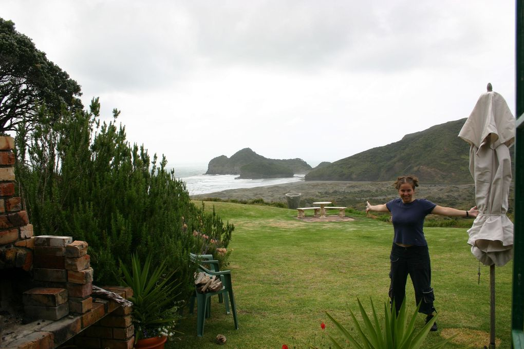 Album - Voyage NZ, Ile Nord - Bethell Beach Cottages