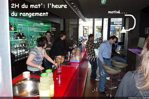 Photos de la 1ère édition du Bargaming au Bar Baboto dans le 1er arrondissement de Paris.