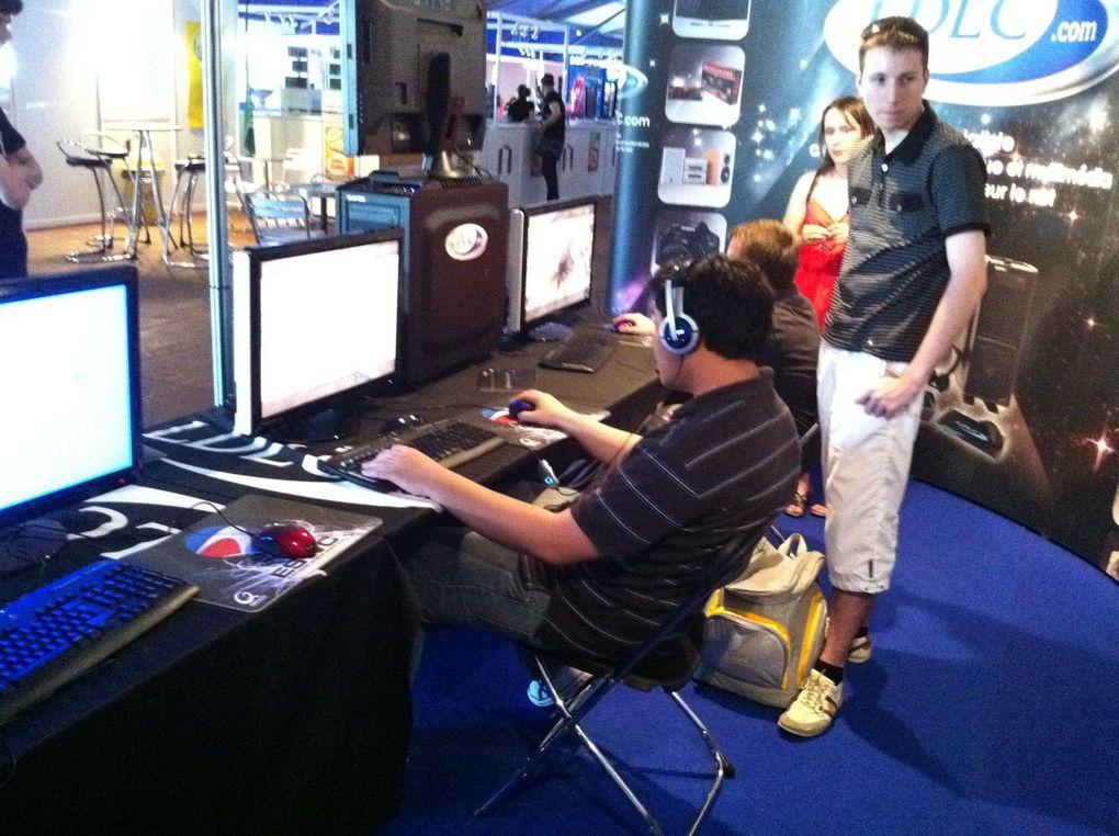 Photos de l'ESWc / Mondial du jeu vidéo à Disneyland Paris. Juillet 2010.