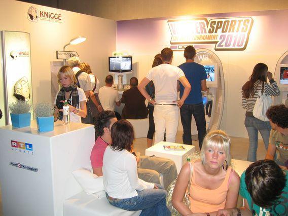 Photo de l'édition 2009 du salon Gamescom à Cologne