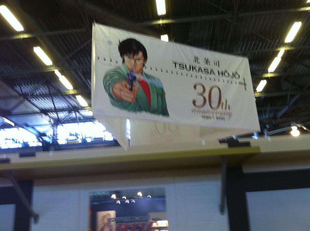 Photos de la 11ème édition de Japan Expo - Partie 1. Parc des Expositions de Villepinte. Juillet 2010