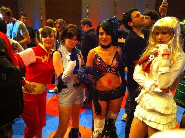 Photos de la présentation de Street Fighter X Tekken lors du Gamescom 2010