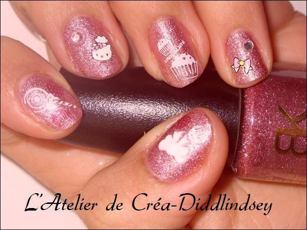 Album - Nail Art et Konad sur ongles naturels