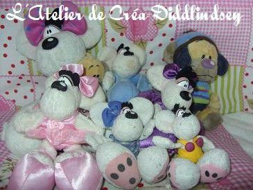 Mes Diddl feuilles , peluches, objets , création , ma colection ...