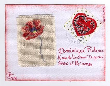suite à mon appel sur le forum l'Art du Mailart voila les MA que m'ont fait parvenir les filles Merci à toute ils sont super