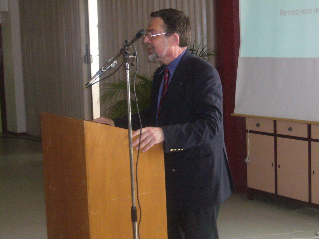 JNR 2009 au Lycée Galilée, le jeudi 7 mai 2009 en présence du préfet de Seine-et-Marne M. Michel GUILLOT.