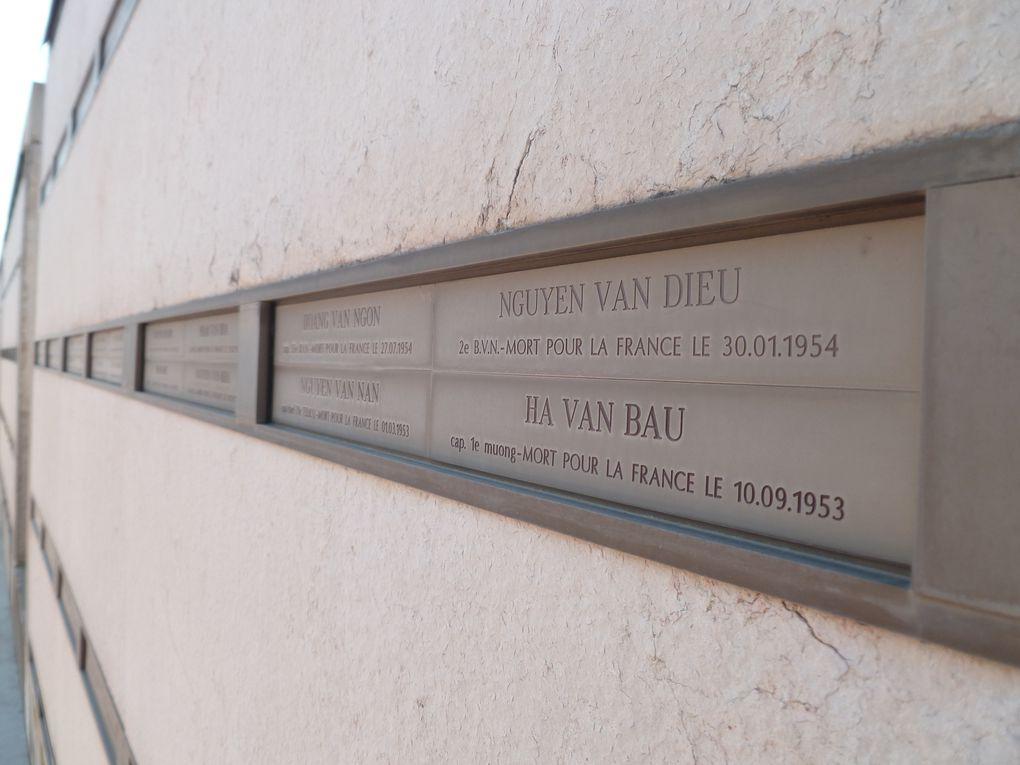 Mémorial Armée noire - Port-FréjusMusée des Troupes de Marine - FréjusMémorial des guerres en Indochine - Fréjus