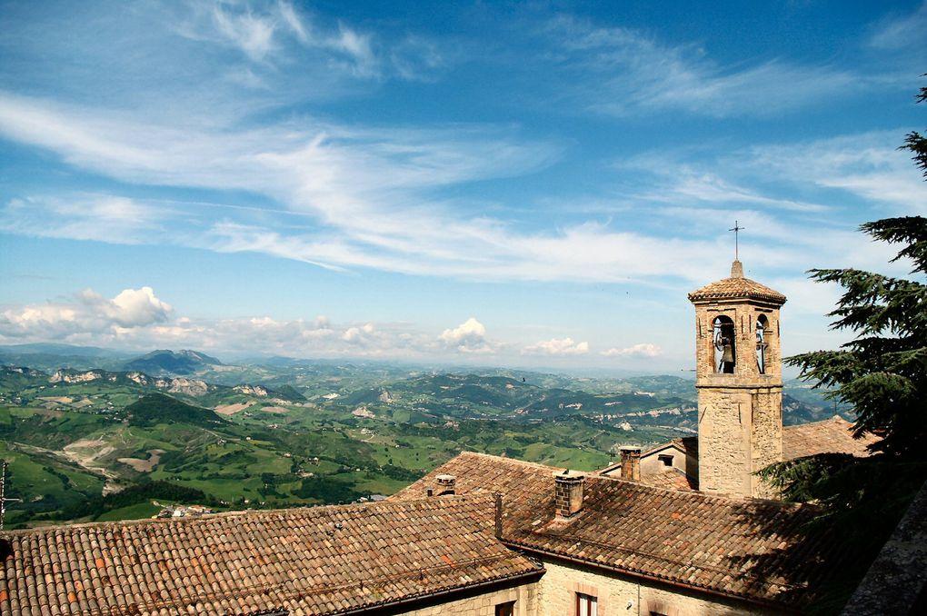 Florence, San Gimignano, San Marino