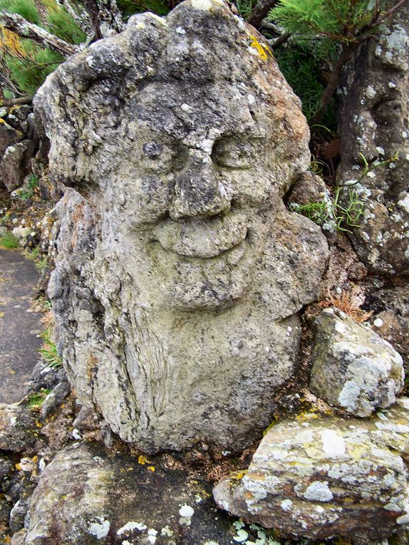 rochers sculptés de Rotheneuf près de st malo