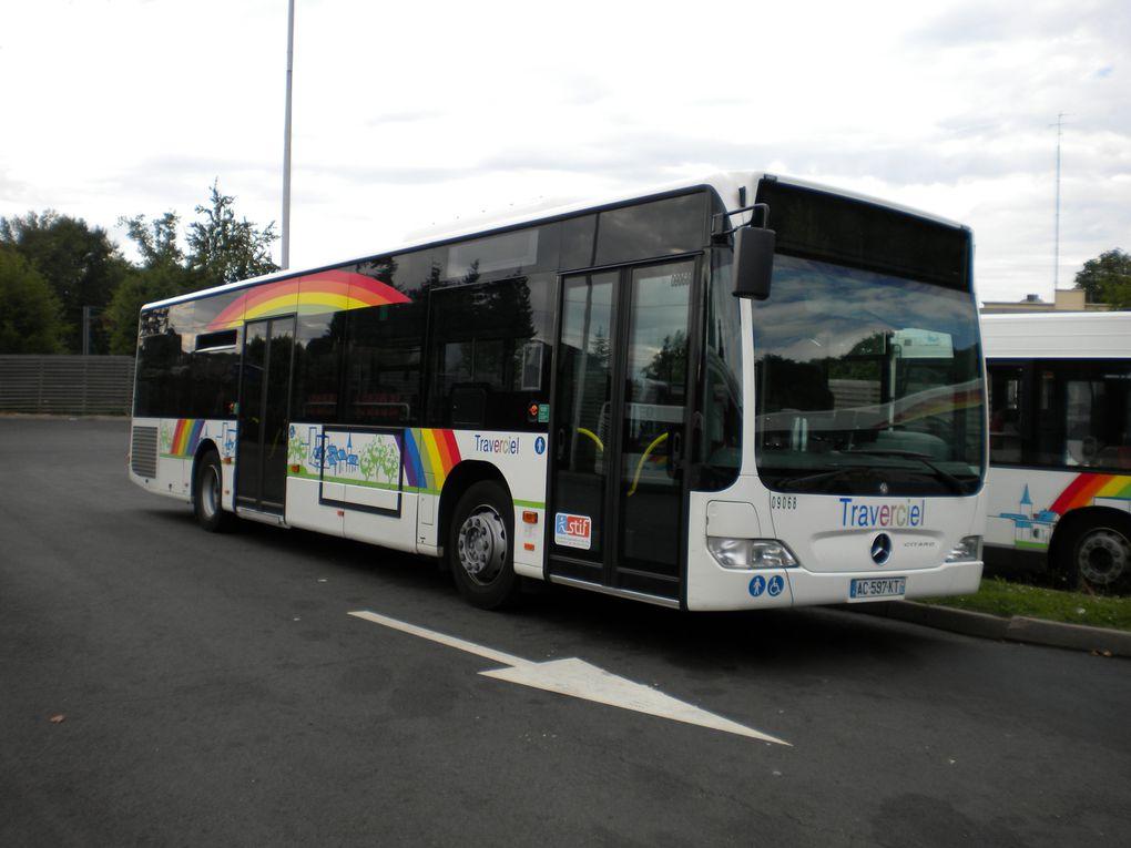 Galeries photos du réseau Traverciel et Veolia transport.