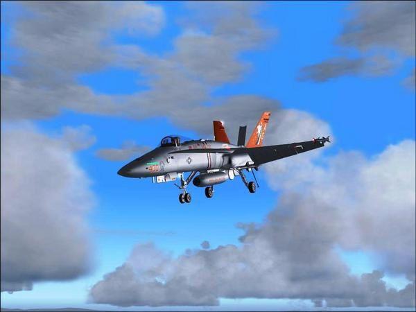 Captures d'écran à partir de simulateurs de vol
