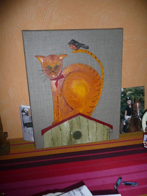 huiles / aquarelles