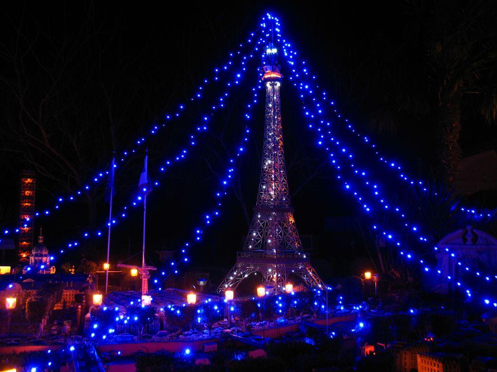 La nuit, Le Petit-Paris est encore plus magnifique, une véritable ville-lumière !