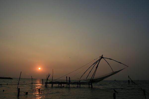 Fort Cochin et les Backwaters