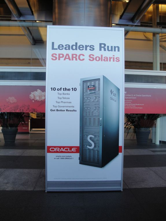 Quelques images de l'Oracle Open World