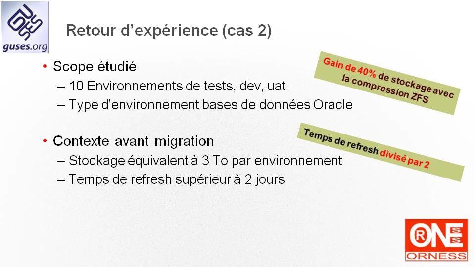 """Présentation du GUSES effectuée lors de l'event Oracle """"The Extreme-Performance Tour"""""""