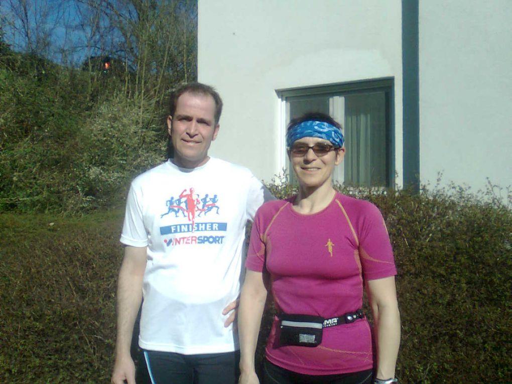 25° im April - ein schöner Lauf!