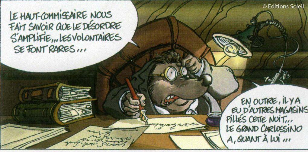 Scénariste : Jean-Luc LOYER / Dessinateur : Vincent SAUVION / Coloriste : Catherine SIMONI