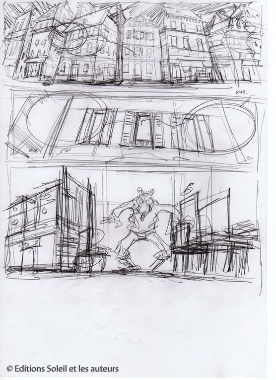 Scénariste : Jean-Luc LOYER /Dessinateur : Vincent SAUVION /Coloriste : Catherine SIMONI