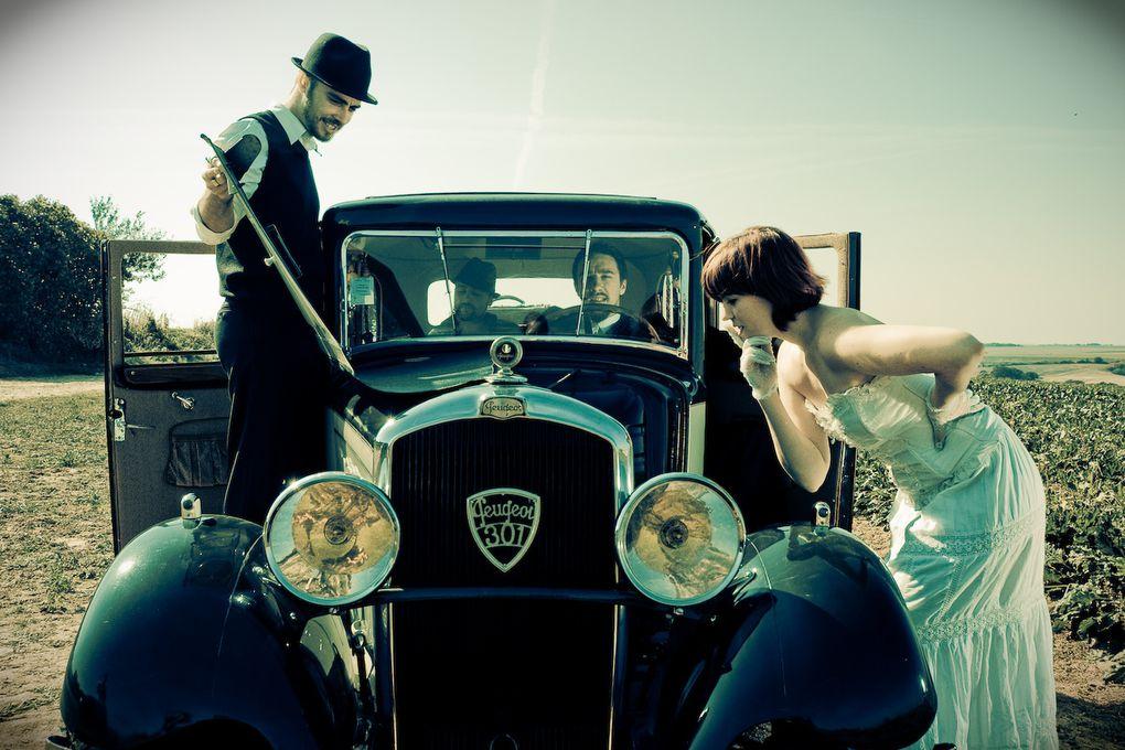 Séance photo du 28 septembre 2008 par Nejib Boubaker avec une splendide Peugeot 301 de 1933 !