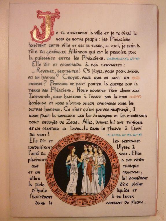 Livre d'art enluminé en cours à paraître aux Editions Larroque.