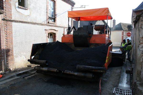 Travaux de réfection rue de TréonPrintemps 2008