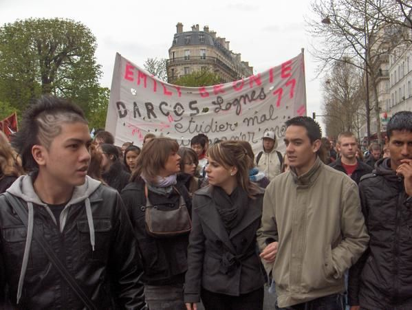 Manifestation du 8 avril à Paris.