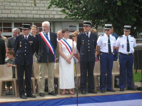 cérémonie du 14 juillet à montbard