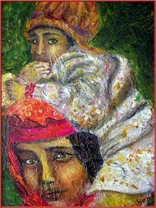 huiles , pastels , aquarelles et compositions artistiques