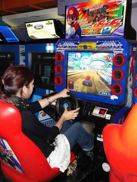 Photos prises à la salle d'arcade FUNLAND principalement.