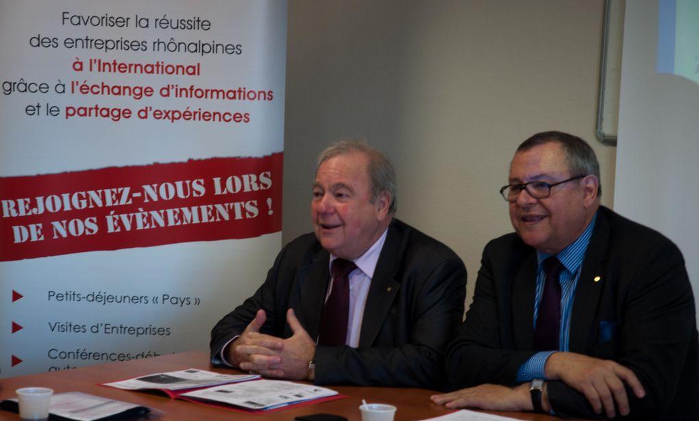 AG 2013 du Club Pays Entreprises à la CCI Nord-IsèreCrédit Photos : Hervé Marijon