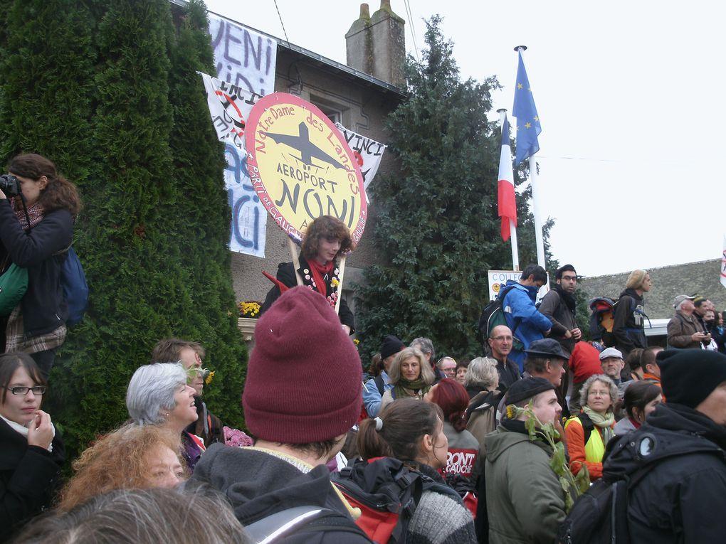 Journée de manifestation du samedi 17 novembre contre le projet de Notre Dame des Landes