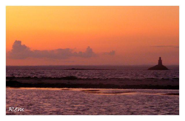 Les instants magiques des couchers de soleil