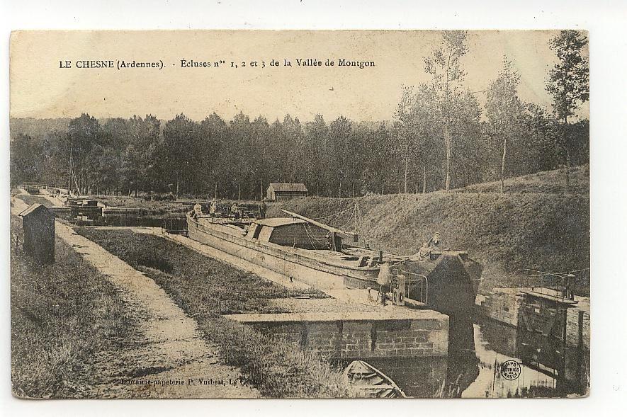 Ecluse 20, La Coquée, Semuy, Voncq, Le Chesne canal construit en 1857