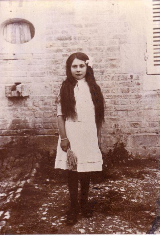 Louise Gaucher épouse de Gaston Dardard à différents âges de sa vie