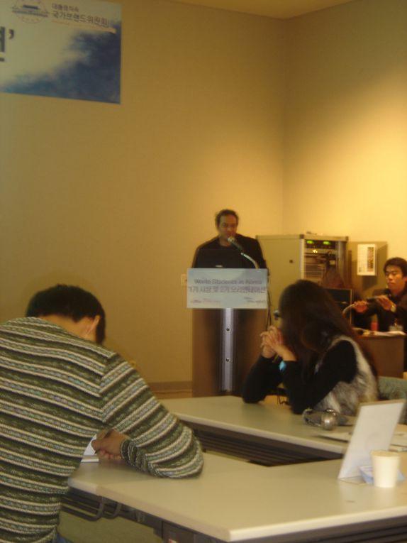 Remise des prix pour les blogueurs du PCNB dans le très joli cadre du Musée National de Séoul