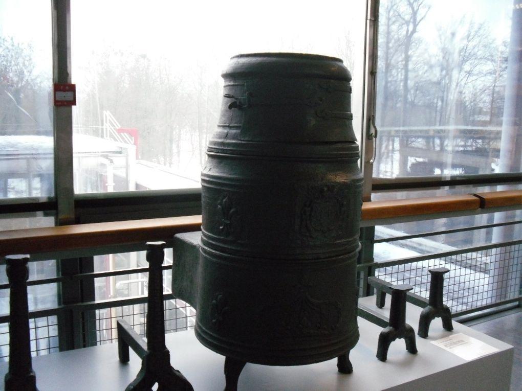 Petite visite du musée du fer de Jarville avec la MJC de St Nicolas durant mon escapade lorraine.