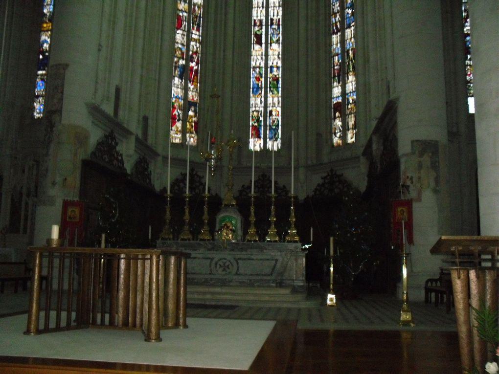 La très belle basilique gothique de St Nicolas de Port où j'ai fait un pèlerinage express (faut dire qu'elle est à 10 minutes à pied de chez moi)