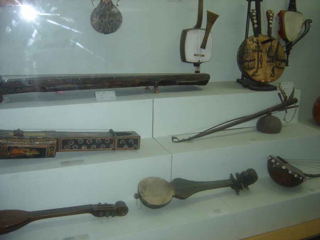 Cours de haegeum (violon asiatique) et musée de la musique traditionnelle coréenne au National Center for Korean Performing Arts