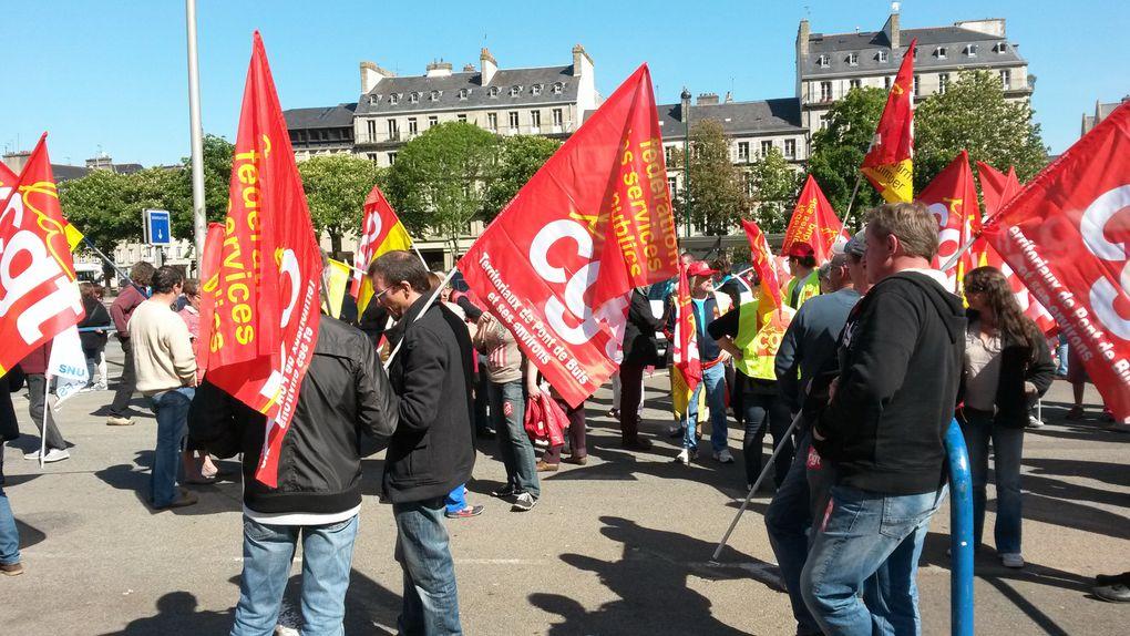 Le 15 mai a été le théatre d'une forte mobilisation !!!