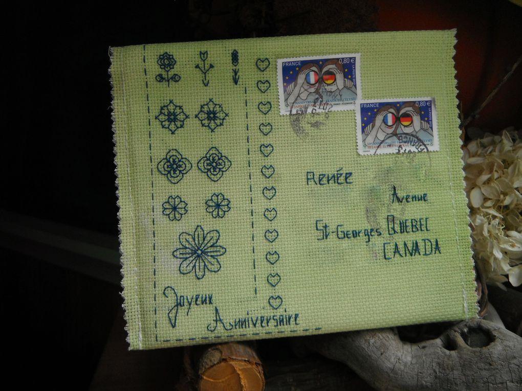Album - Enveloppes reçues des copines