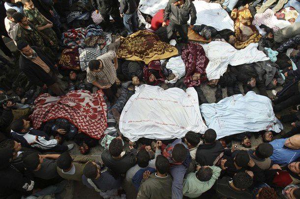 Massacre de la population de Gaza par israël (2008/2009)